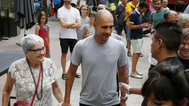 Man City Boss Guardiola loses Mum to coronavirus pandemic