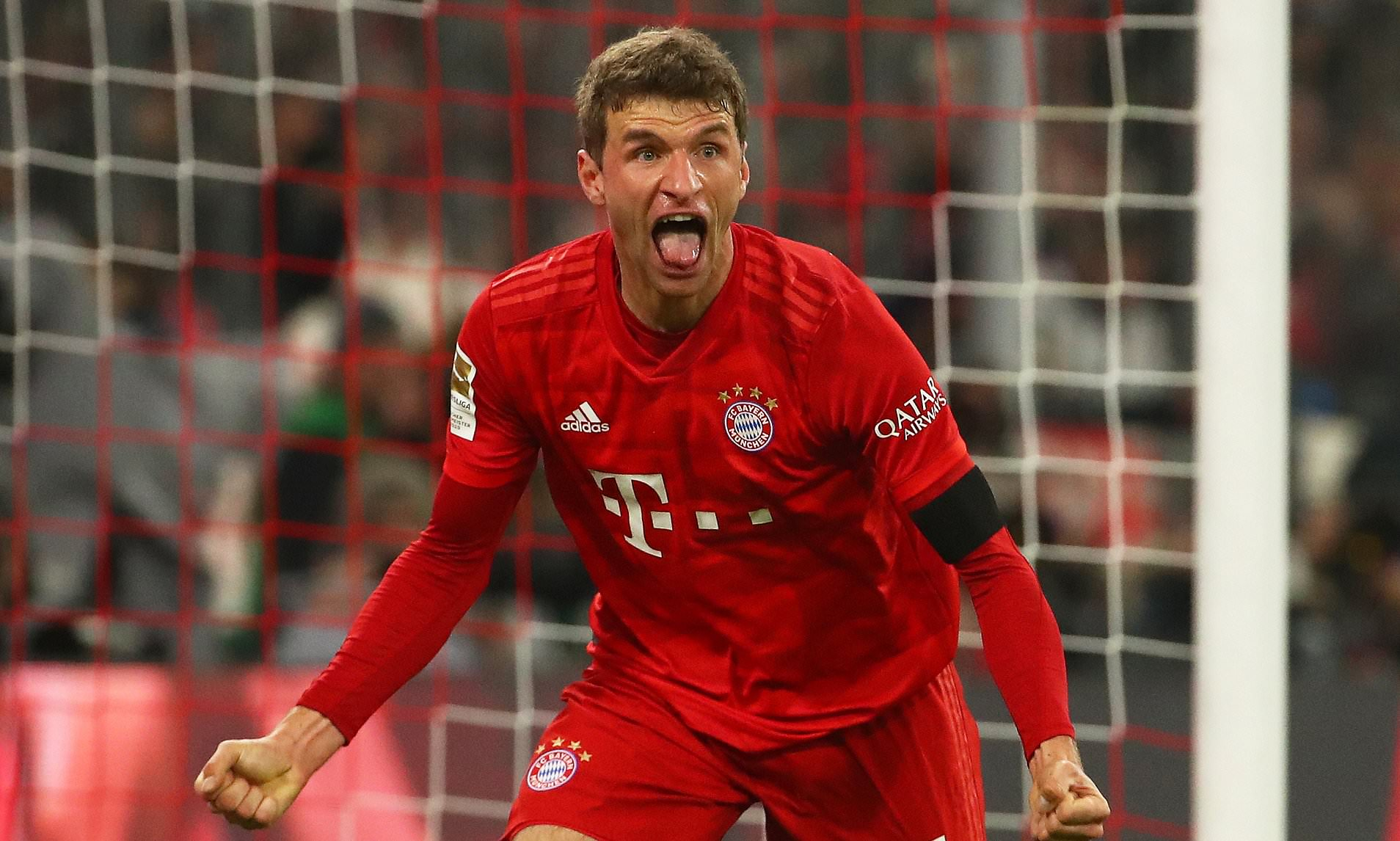 Muller don sign chacha deal for Bayern