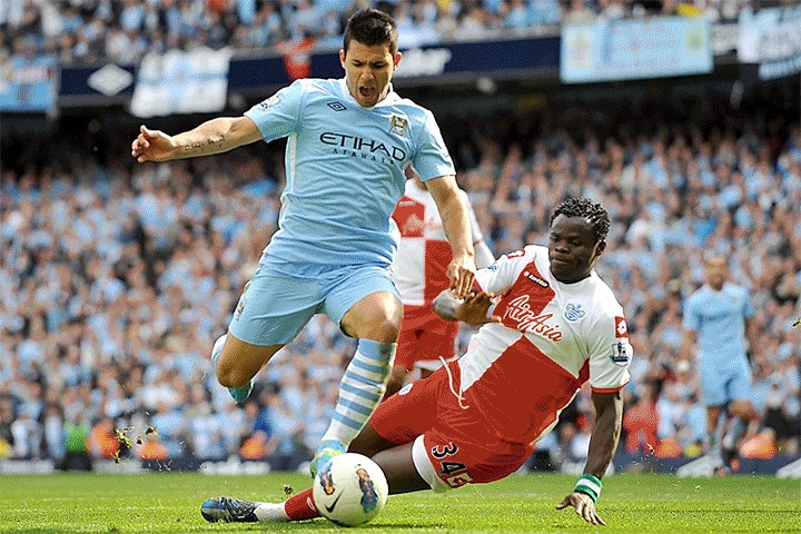 Taye Taiwo Talks about Aguero's title winning goal for Man city against QPR in 2012