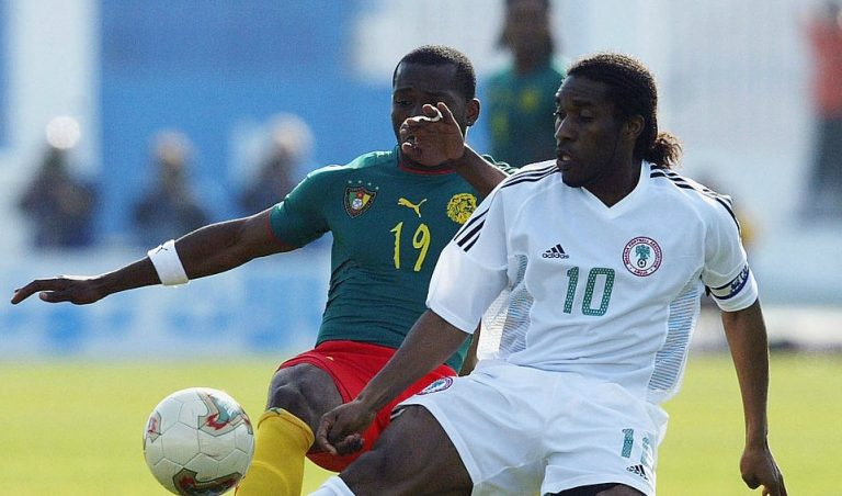See why Amokachi will pick Okocha over Mikel in his midfield