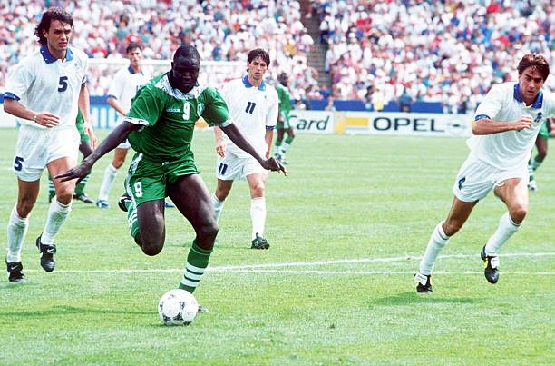 Despite scoring Nigeria's first World Cup goal, Ezeugo insists Yekini was not at USA '94