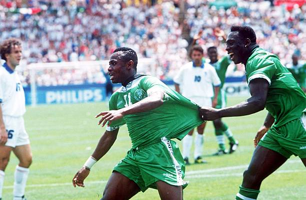 Amuneke Rubbishes claims Westerhof benefited off Players in Eagles as their Manager during 1994 FIFA World Cup