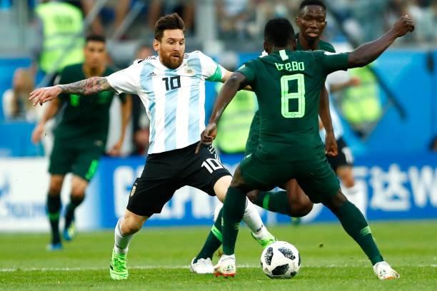 Forget Ronaldo, Zlatan and Neymar, Ekong Names Messi His Toughest Opponent