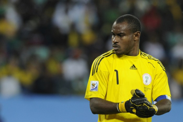 Enyeama drums support for Super Eagles goalkeepers