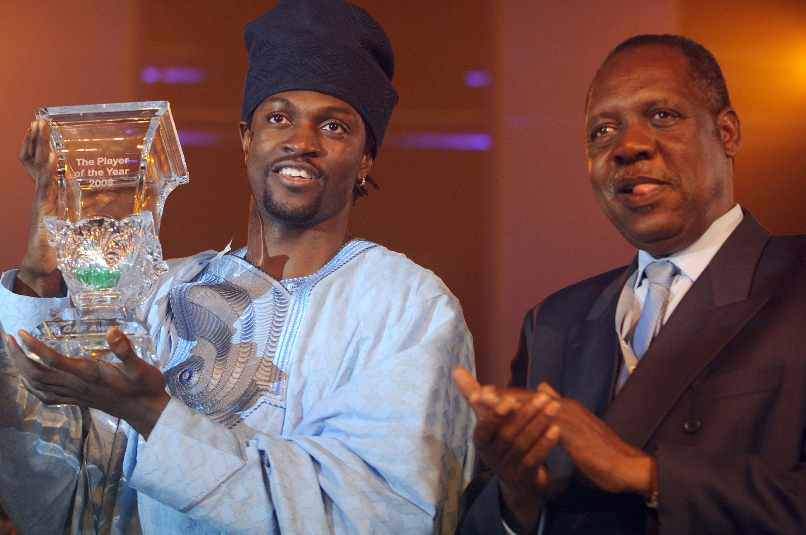 Okpara calls on Adebayor to return 2008 African Player of the year award
