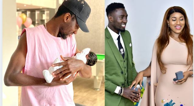 Wilfred Ndidi Welcomes First Child With Wife Dinma – See the Pic!