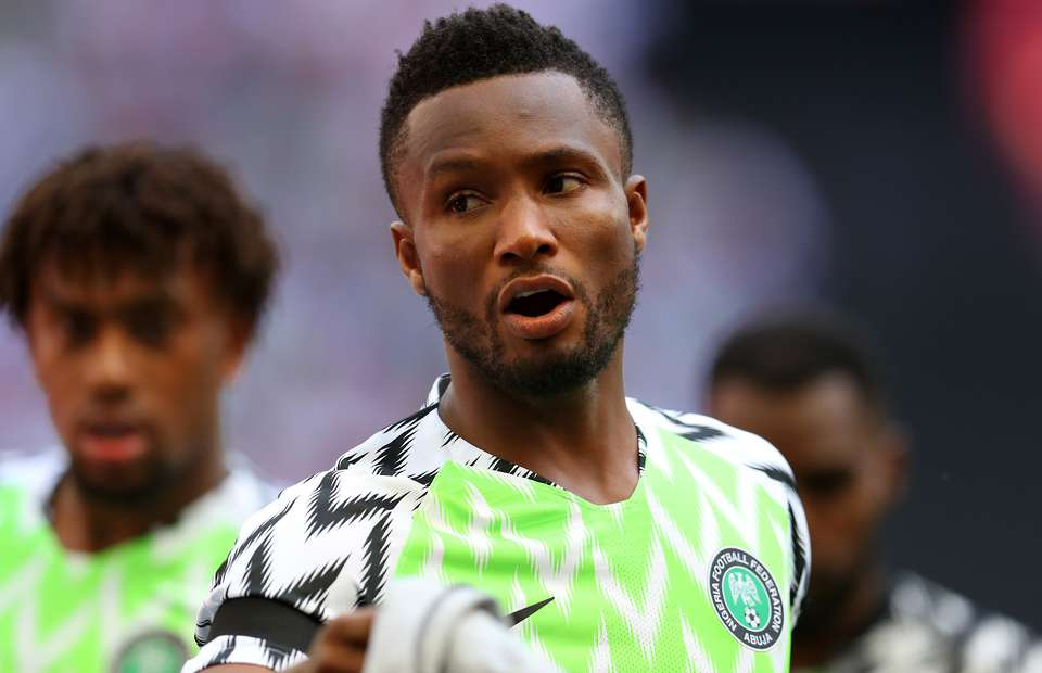Iwobi reveals Mikel's influence on his Super Eagles career