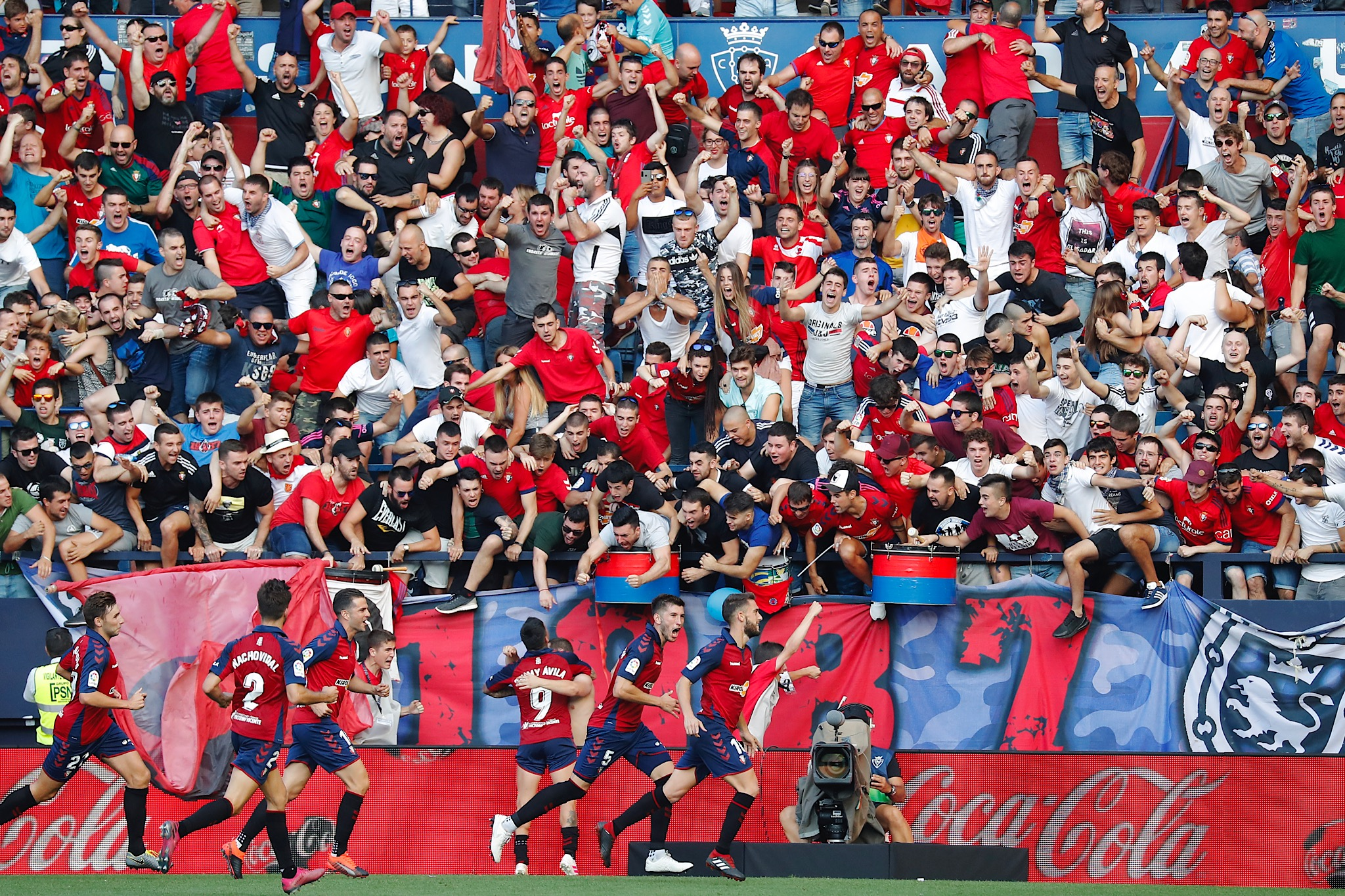 El Sadar, the home of CA Osasuna and the loudest crowd in LaLiga history