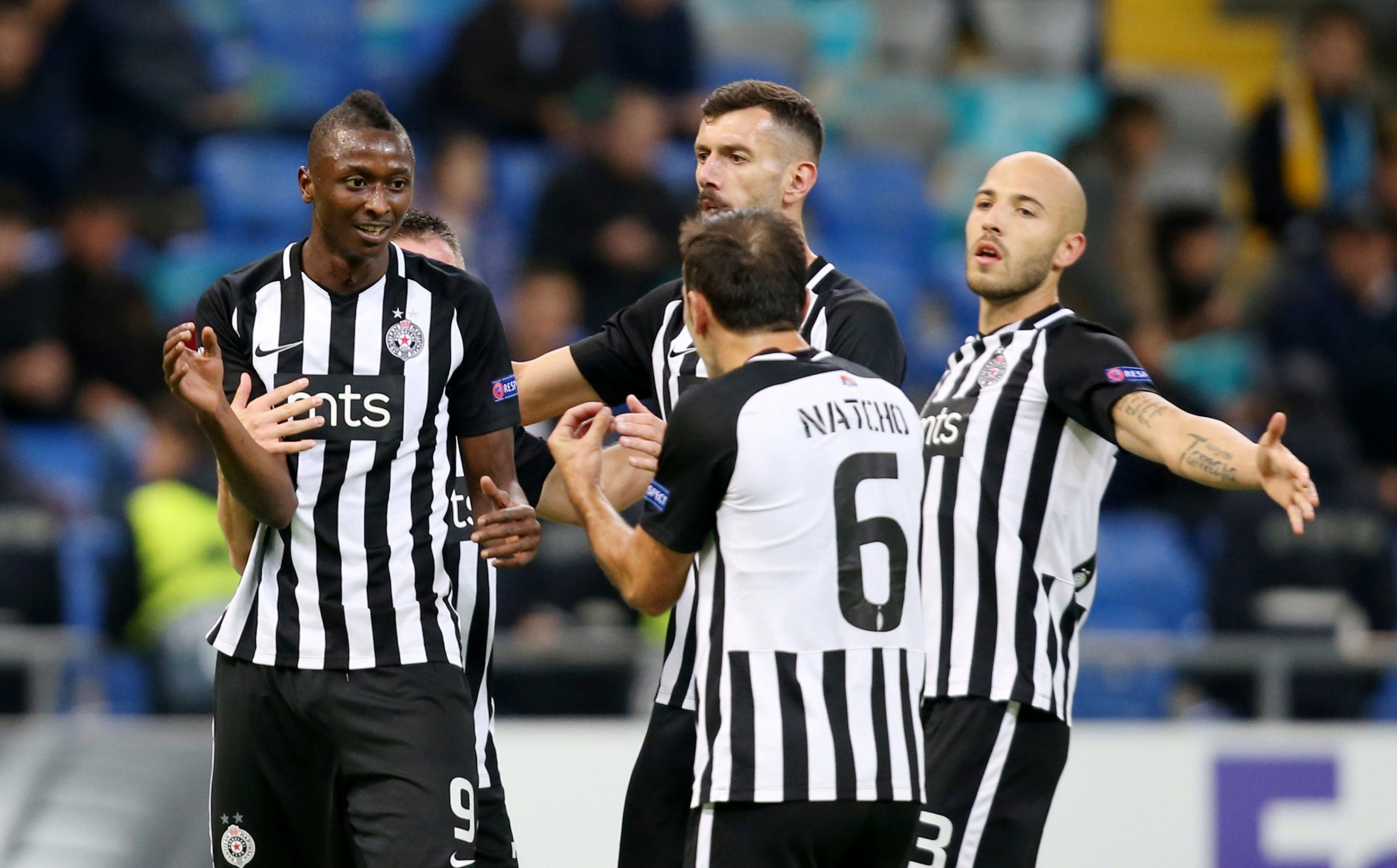 Sodiq Umar hits 17th goal of the season for Partizan Belgrade