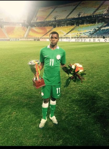Former Golden Eaglets star Ishaq Abdulrazak to join Swedish side Norrkoping