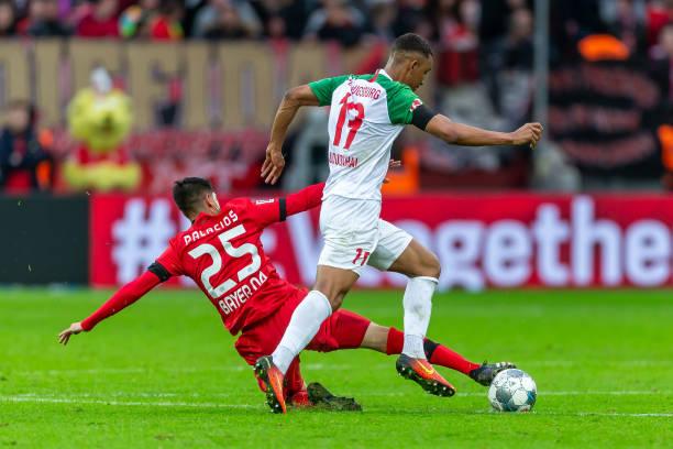 Noah Sarenren Bazee scores first Bundesliga goal for Augsburg