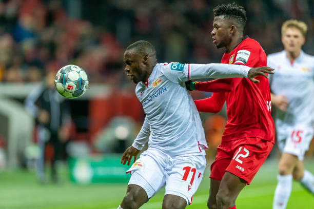 Bundesliga: Ujah bags assist for Union Berlin as Ehizibue returns to Cologne XI