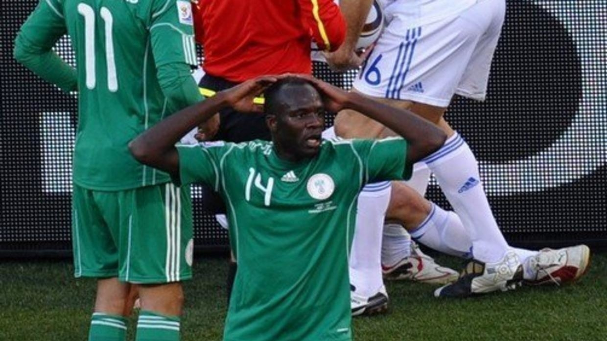 I still don't know what happened before I got sent off at  2010 FIFA World Cup – Kaita