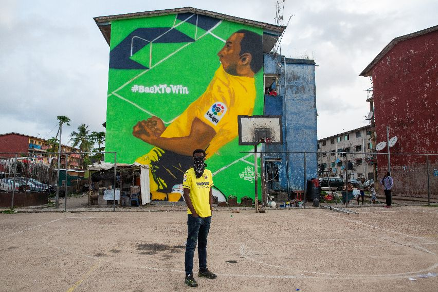 Laliga Celebrates Football's Return with Urban Art Project across Five Continents