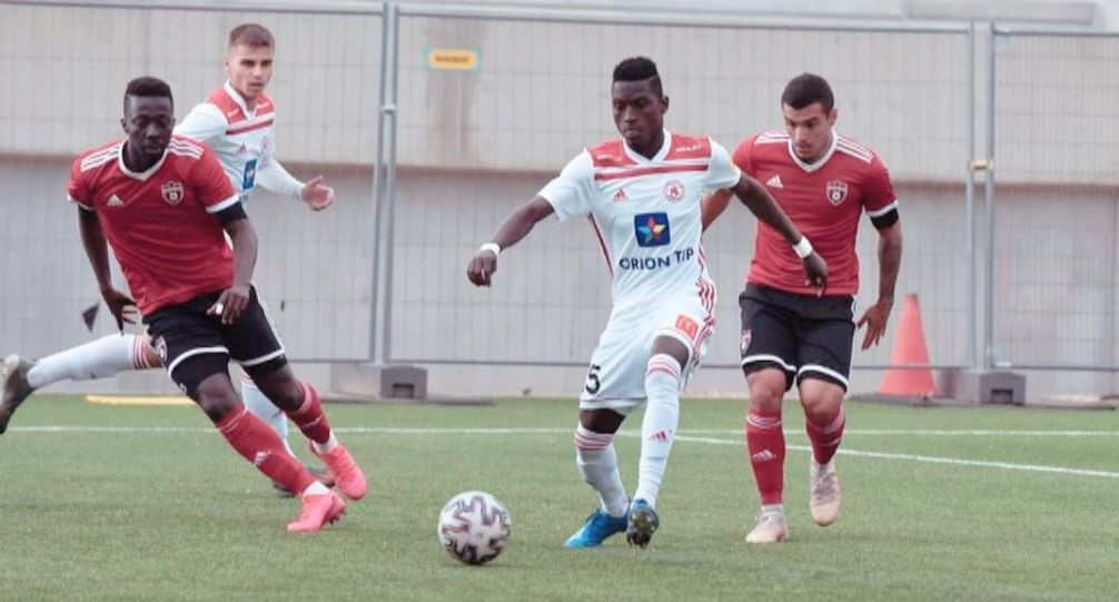 Flying Eagles striker Ahmad Ghali delighted with his AS Trencin debut