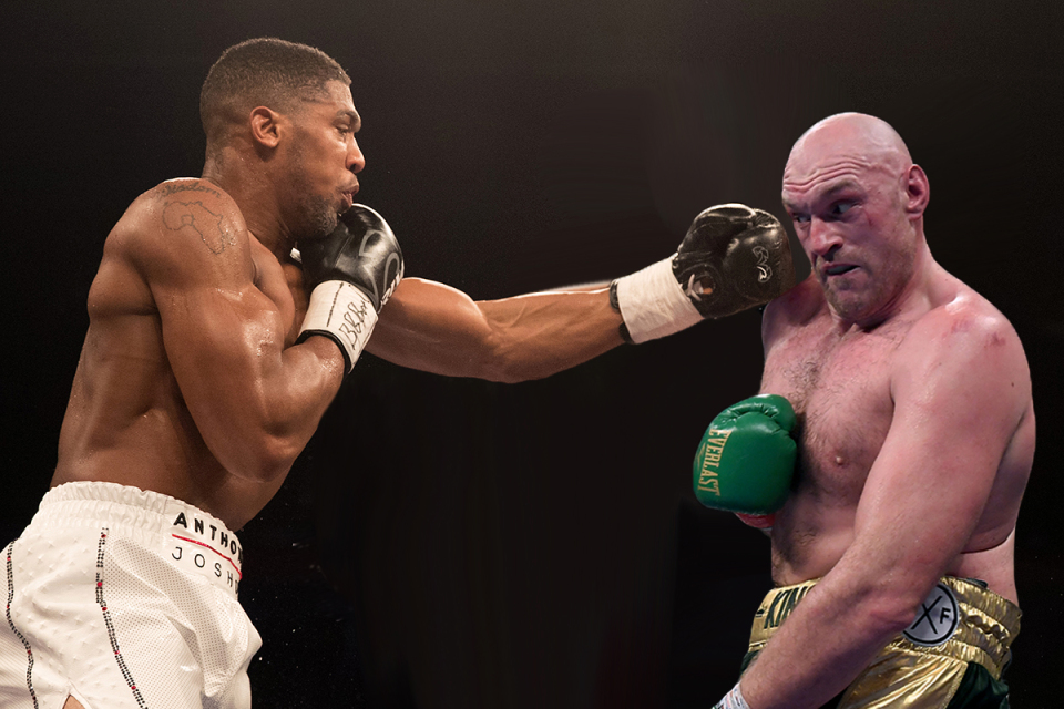 Anthony Joshua And Tyson Fury Agree Terms On Two-Fight Deal