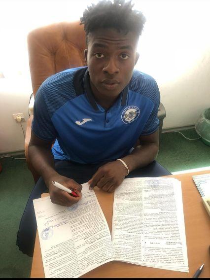 Enyeribe Kelvin Ikenna Joins FC Balti Of Moldova