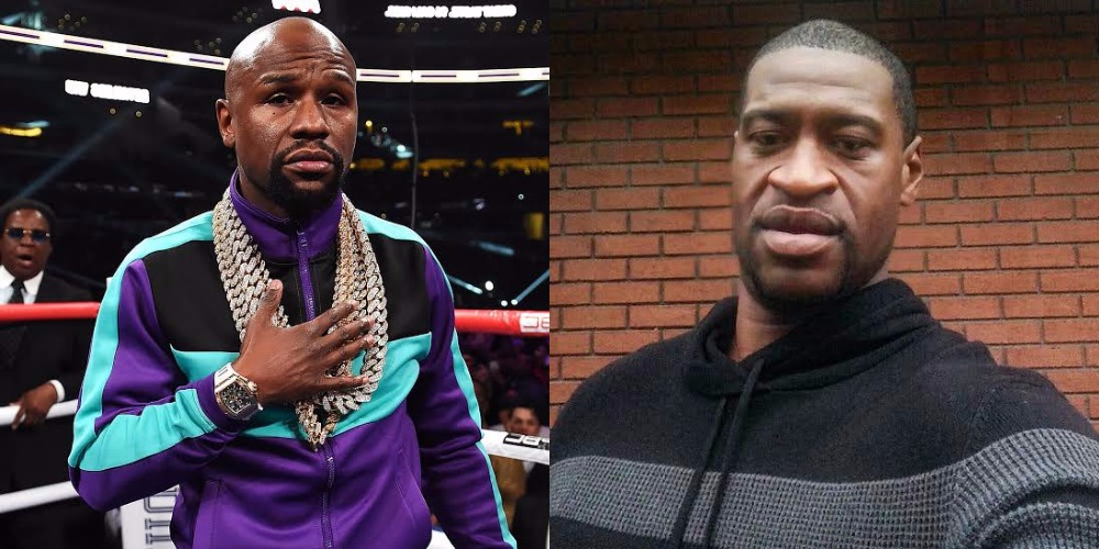 Floyd Mayweather offers to cover funeral expenses for Late George Floyd
