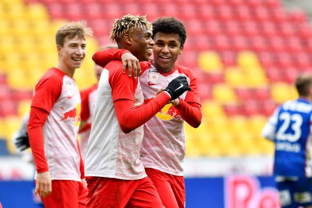 Nigeria's rising star Adamu hits brace against Sunday Faleye's Innsbruck