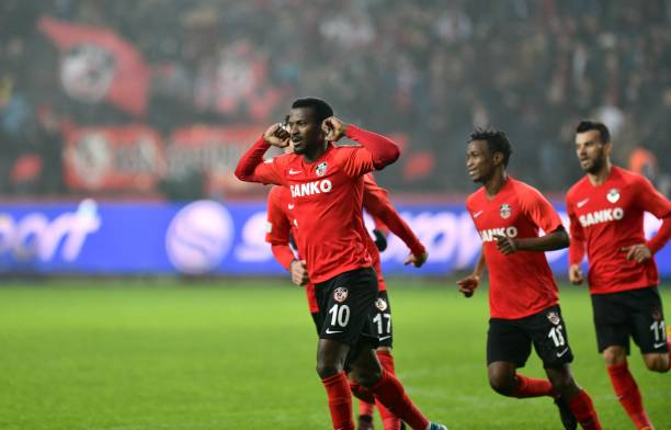 9 goals and six assists: Kayode Olarenwaju's incredible form continues in Turkey