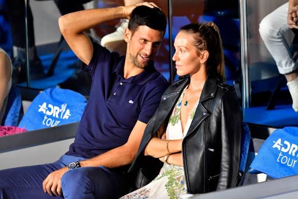 Tennis player Novak Djokovic and wife Jelena test positive for coronavirus