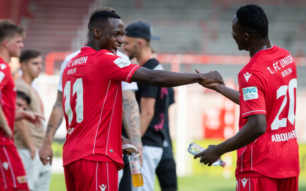 Anthony Ujah and Suleiman Abdullahi end the season with goals for Union Berlin