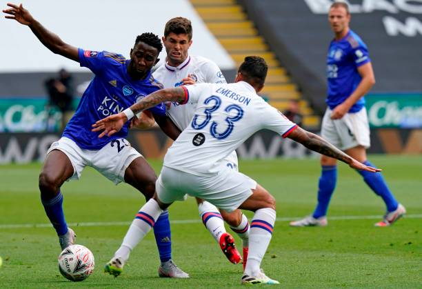Ross Barkley dumps Ndidi's Leicester out of FA Cup