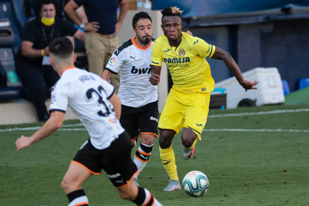 70 touches, 75% duel won and 95% passes completed: Chukwueze stars for Villarreal again