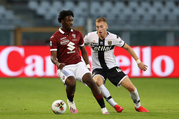 Aina in action as Torino end six game losing streak against Parma
