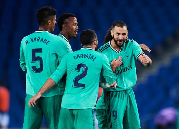 Real Madrid go top of LaLiga after slim Real Sociedad win