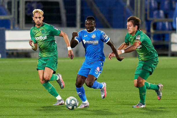 Etebo's Getafe beat Real Sociedad to keep Champions League hopes alive