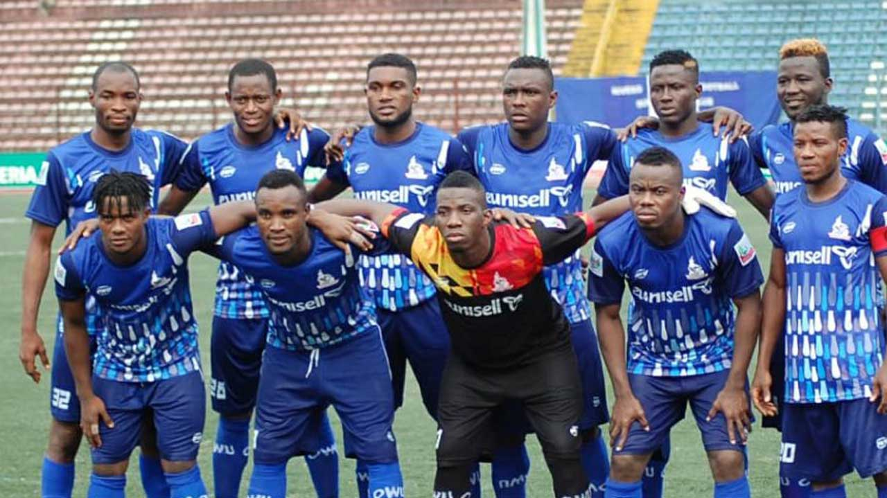 NPFL side Rivers United reacts to FIFA's Transfer ban