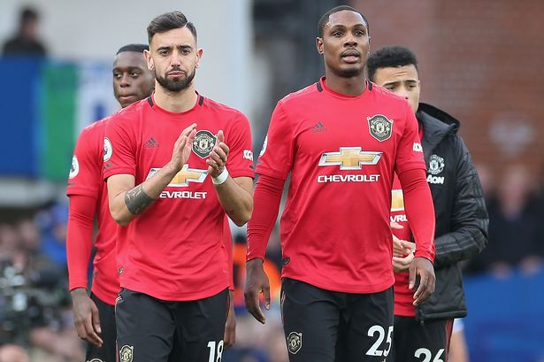 Bruno Fernandes hails Ighalo's quality