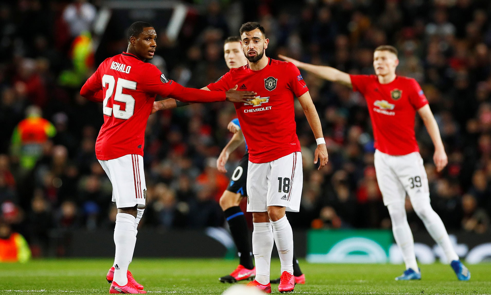 Ighalo, Bruno key in United's top-four chase, says Solskjaer