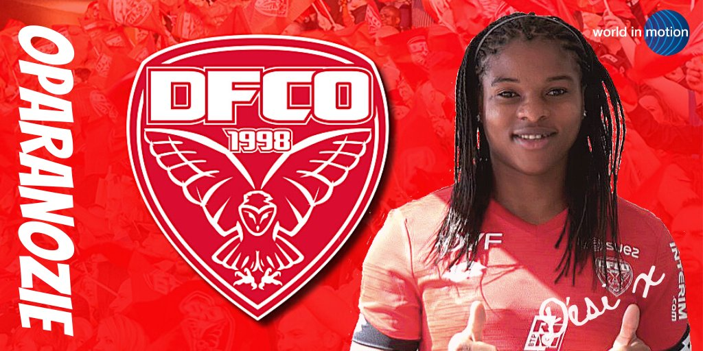 Oparanozie delighted to begin another adventure with Dijon