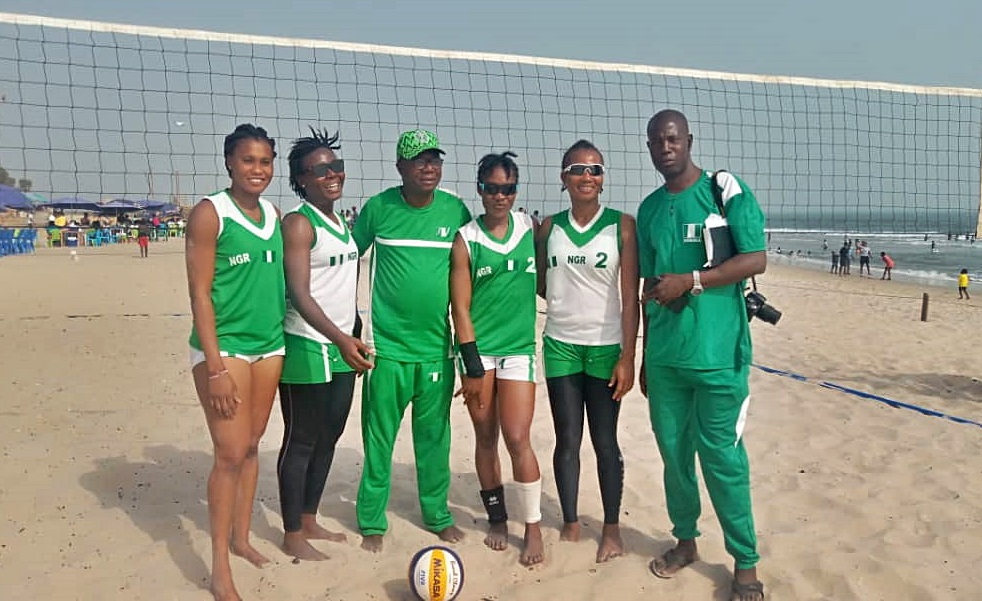 Abdullahi backs Nigeria's women beach Volleyball team to pick Olympic ticket