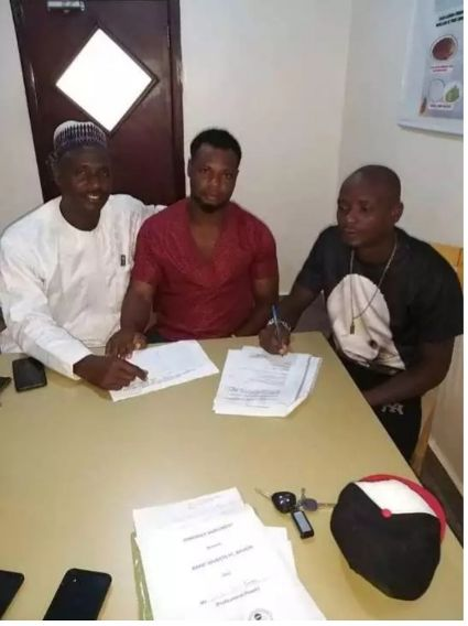 Wikki Tourists completes the signing of Kelechi Ogoh and Joel Djondang