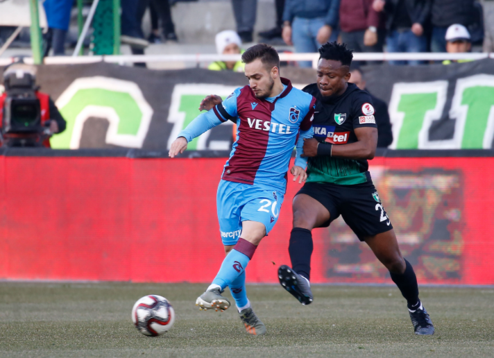 Onazi inspires Denizlispor to record huge win over former club Trabzonspor