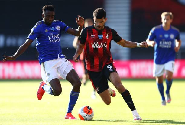 Iheanacho, Ndidi flop as Leicester suffers embarrassing defeat at the Vitality Stadium