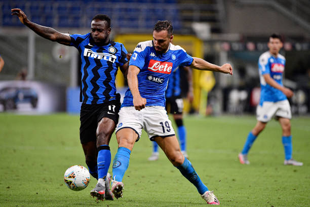 Moses makes cameo appearance as Inter beat Napoli to go second in Serie A