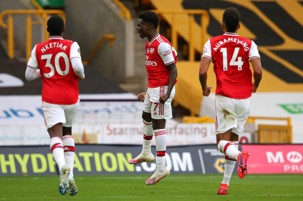 Saka is one of the stars for the future, says Ashley Cole