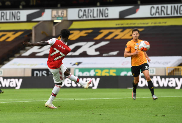 Saka targets another win over Leicester City