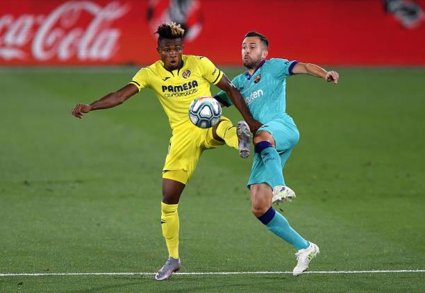 Chukwueze in action as Barcelona ends Villarreal's unbeaten run