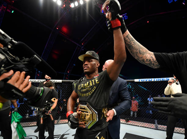 Kamaru Usman retains UFC title with win over Jorge Masvidal