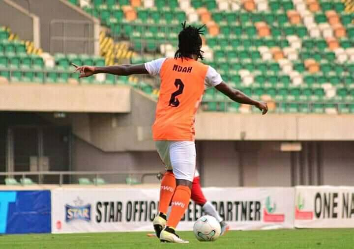 Akwa United defender Olisa talks about the year 2020, the local league and lack of football