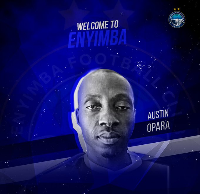 Austin Opara terminates his contract with Enyimba