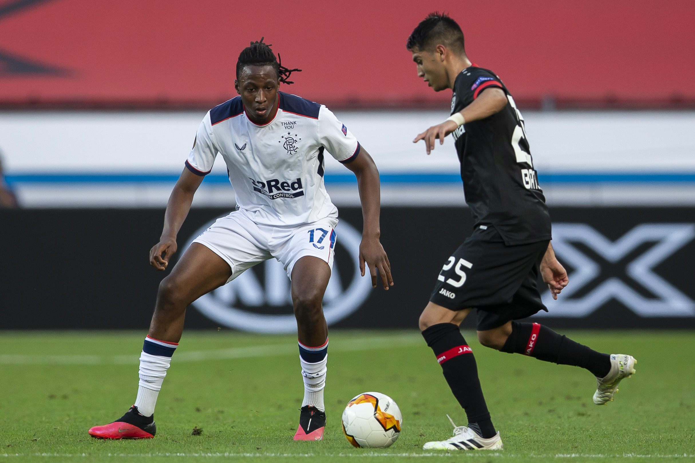 Aribo dumped out of Europa league with Rangers