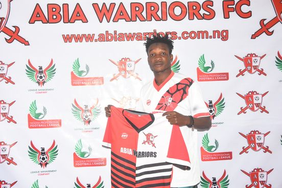 Abia Warriors completes the signing of Mustapha Jibreel from Mighty Jets