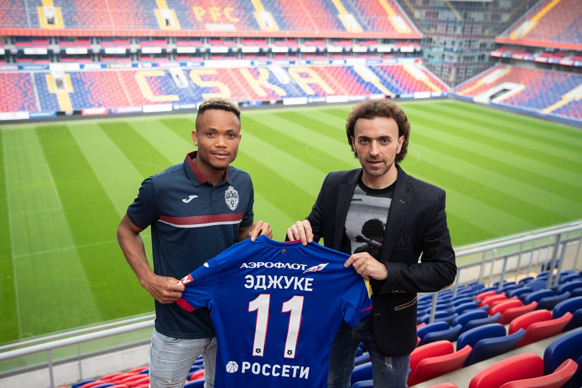 Nigerian winger, Chidera Ejuke signs for Russian side CSKA Moscow
