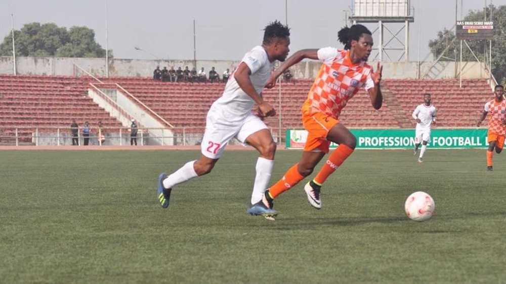 Akwa United's Olisa Ndah delighted to be back in training